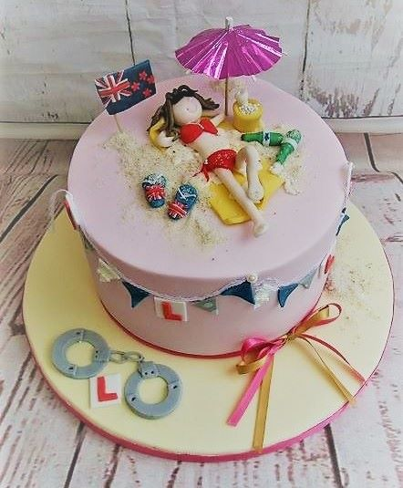 hen do cakes Bath