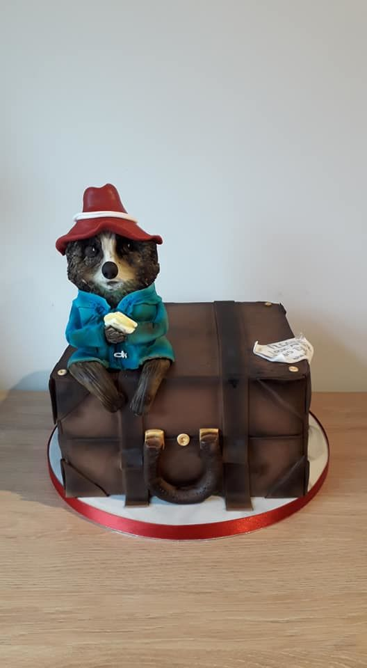 paddington bear cakes