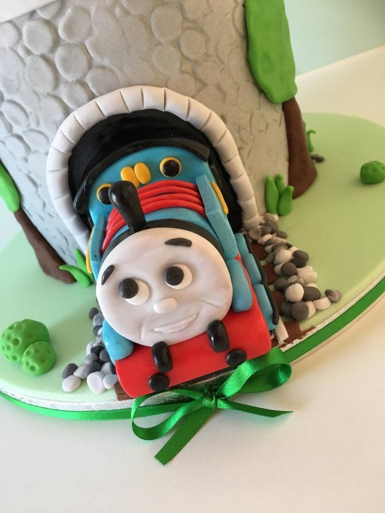 Thomas the tank engine cake Bath