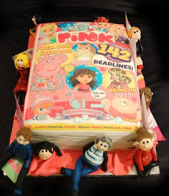 magazine cake 3