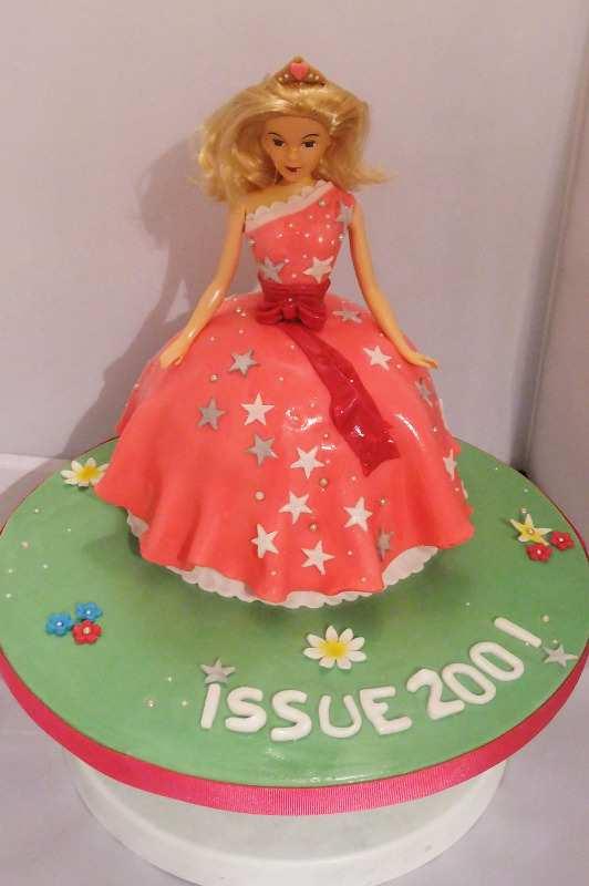 doll cake 1