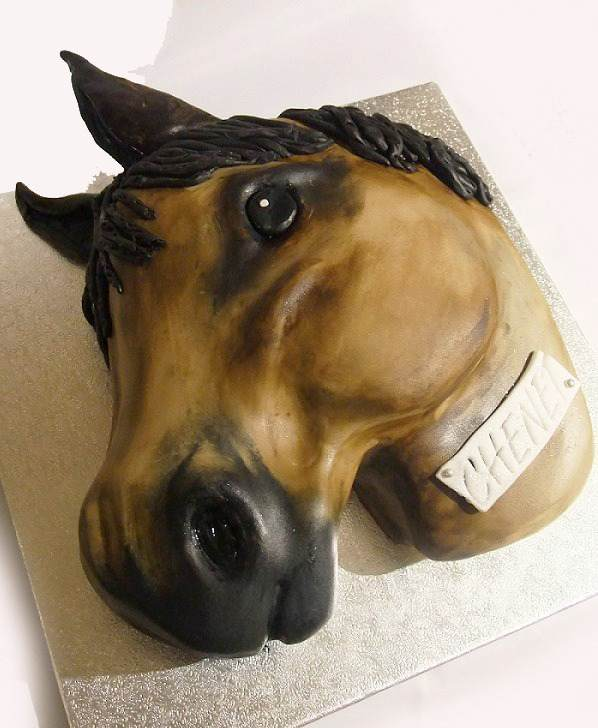 Selection of Horse head Cakes