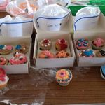 Finsihed cupcakes