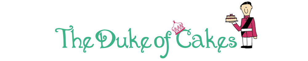 The Duke Of Cakes, site logo.
