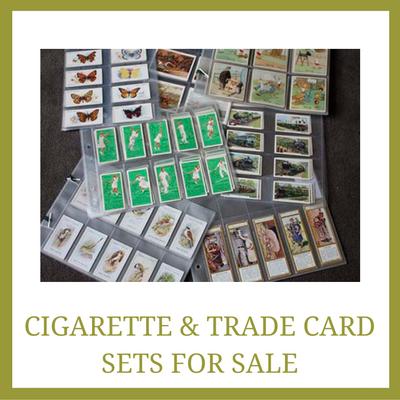 Cigarette & Trade Card Sets for Sale