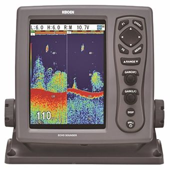 "Koden CVS-128 (8.4"") Digital Echo Sounder (no transducer)"