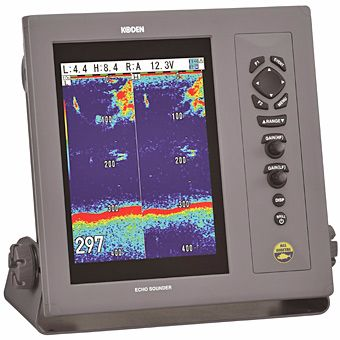 "Koden CVS-1410 10.4"" 1kW Digital Echo Sounder (no transducer)"