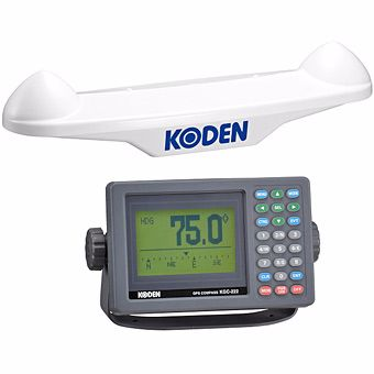 Koden KGC-222 GPS Satellite Compass & Display