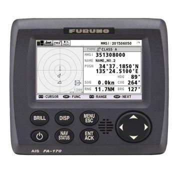 Furuno FA-170 Class A AIS Transponder (with GPS antenna)