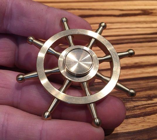 Ships Wheel Fidget Spinner