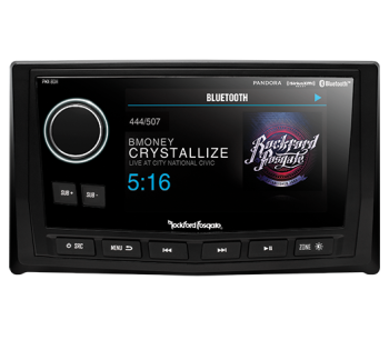 "Rockford Fosgate Punch Display Head with 5"" Colour Display"