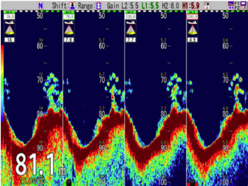 Koden CVS-FX2BB Black Box 3kW Echo Sounder (no transducer)