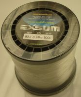Exsum 0.8mm Mono Line on 500m Spool (80 lbs)