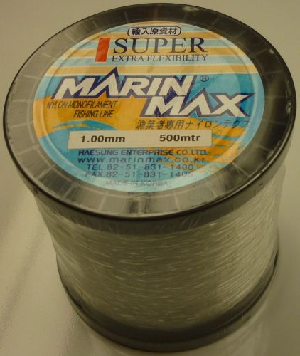 Marin Max 1.0mm Mono Line on 500m Spool (145 lbs)