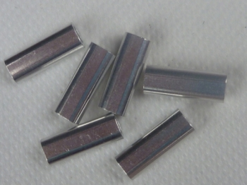 2.0mm Aluminium Crimps (50 off)