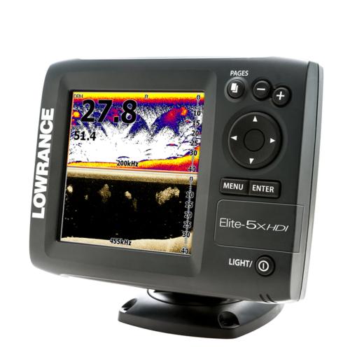 Lowrance Elite-5X HDI Echosounder