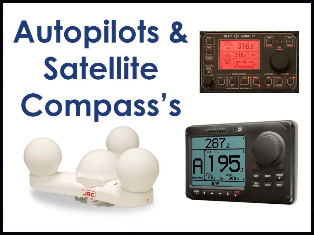 Autopilots/GPS Compass's