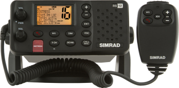 Simrad RS12 VHF with DSC