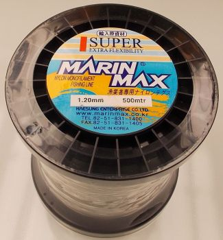 Marin Max 1.2mm Mono Line on 500m Spool (200 lbs)