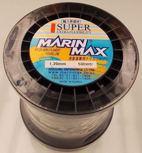 Exsum 1.2mm Mono Line on 500m Spool (150 lbs)
