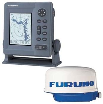 "Furuno M1715 Radar, 7"" Mono LCD Display (inc's 2.2kW 18"" Radome)"