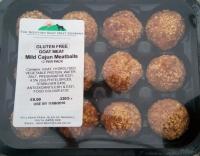 Gluten Free Mild Cajun Goat Meatballs