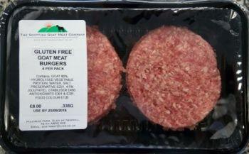 Gluten Free Goat Burgers
