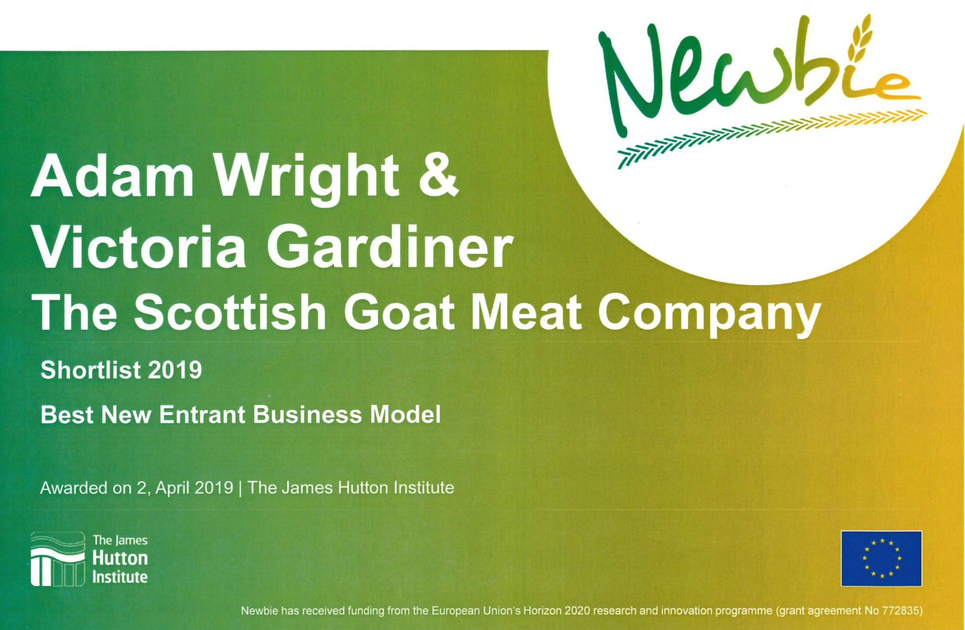 SCOTLAND'S FINEST GOAT MEAT