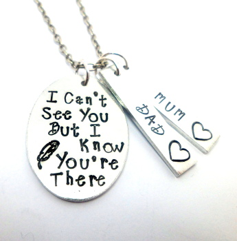 I Can't See You... Necklace