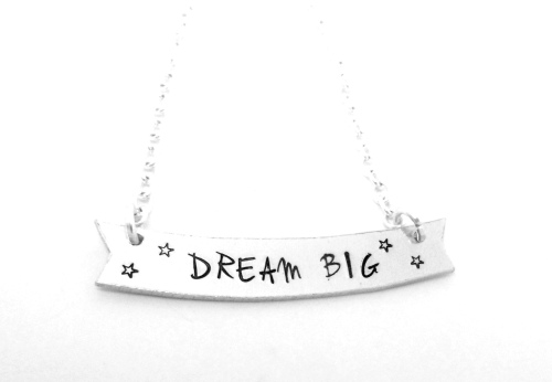 Banner Necklace (Dream Big)