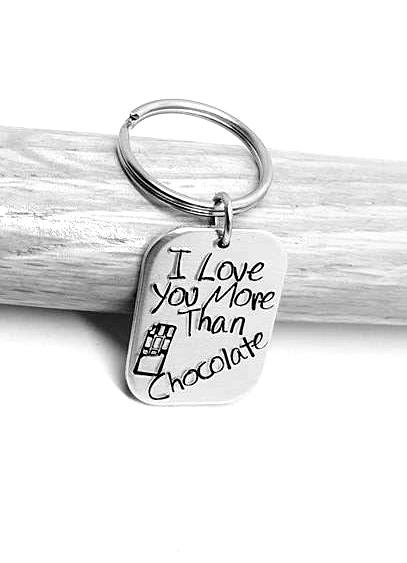 I love you more than Chocolate.. Keyring