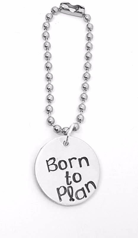 Born to Plan Planner Charm