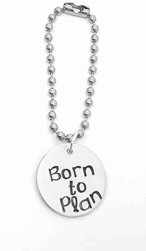 Born to Plan Planner Charm