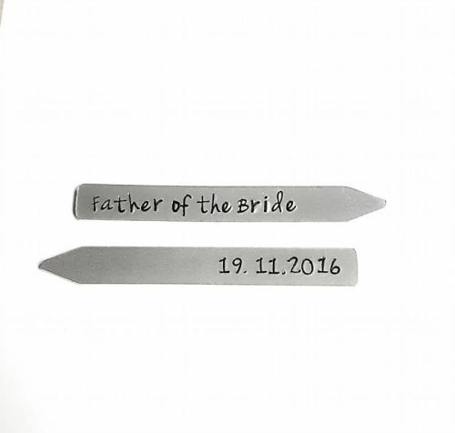 Collar Stays - Wedding