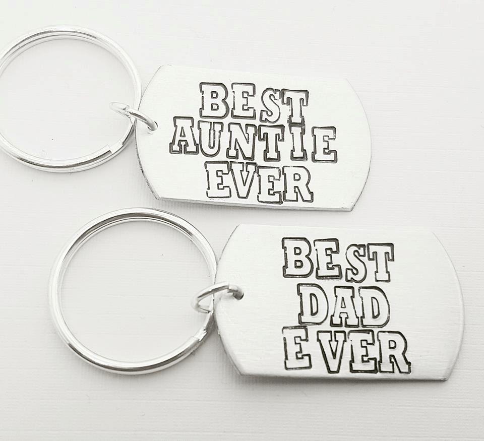 Best Ever Keyring - Choose your Family Member