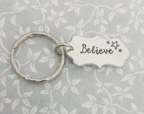 Believe Keyring