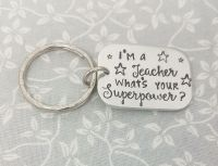 Teacher Keyring - Superpower