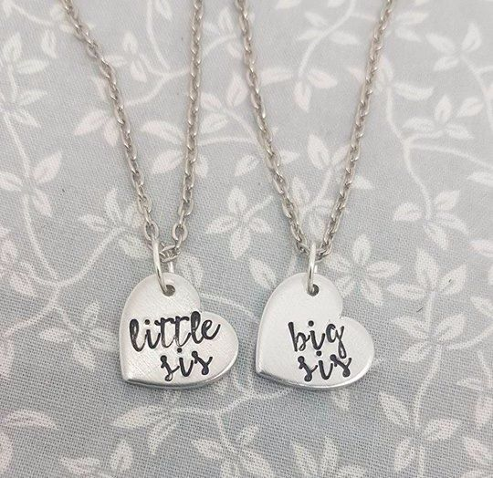 Little Sis & Big Sis Necklaces