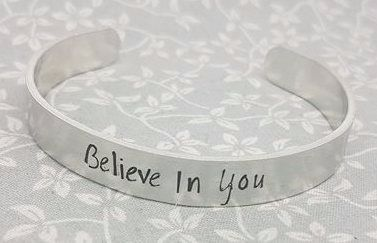 Believe In You - Cuff Bracelet