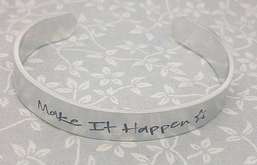 Make It Happen - Cuff Bracelet