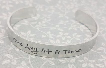 One Day At A Time - Cuff Bracelet