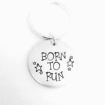 Born To Run Keyring