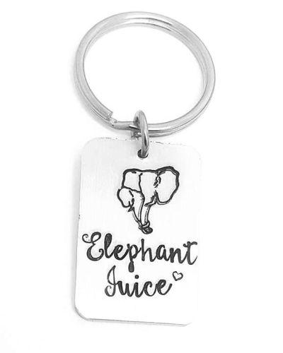 Elephant Juice Keyring - Rectangle