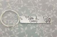 Name & Date Keyring (INTRO PRICE OFFER)