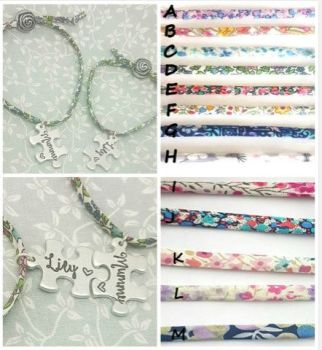 Mummy & Daughter Matching Liberty Of London Adjustable Bracelets