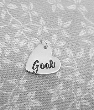 Goal - Heart Charm