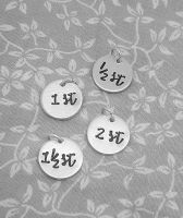 Extra Charms - Round Charms - Stone - choose your own numbers!