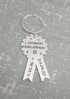 London Marathon Keyring - Add Your Time! ***2018***
