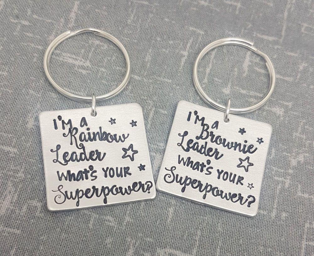 Superpower? Keyring - Guiding Keyrings