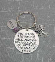 Sister To Sister Keyring